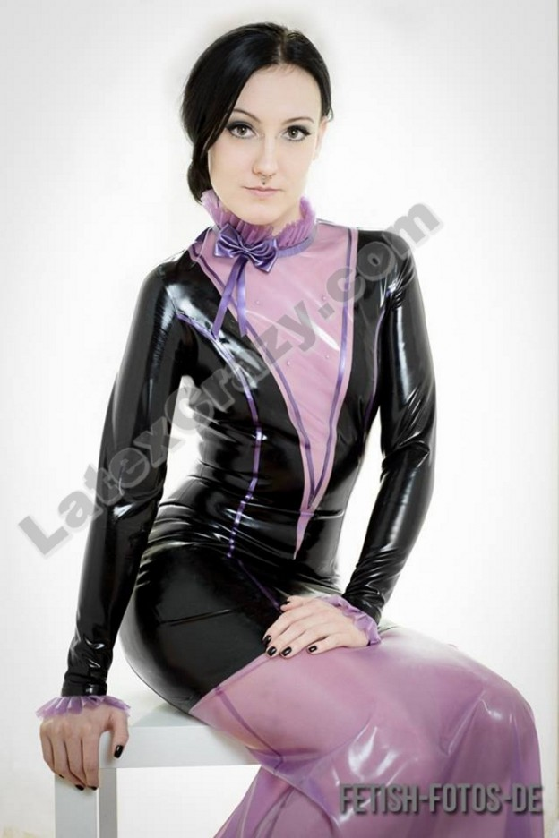 Latexcrazy Latexkleid Mystique
