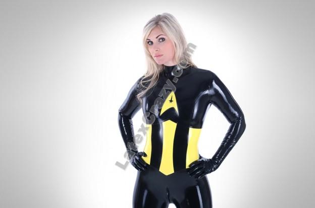 Latexcatsuit Heroine für Superheldinnen