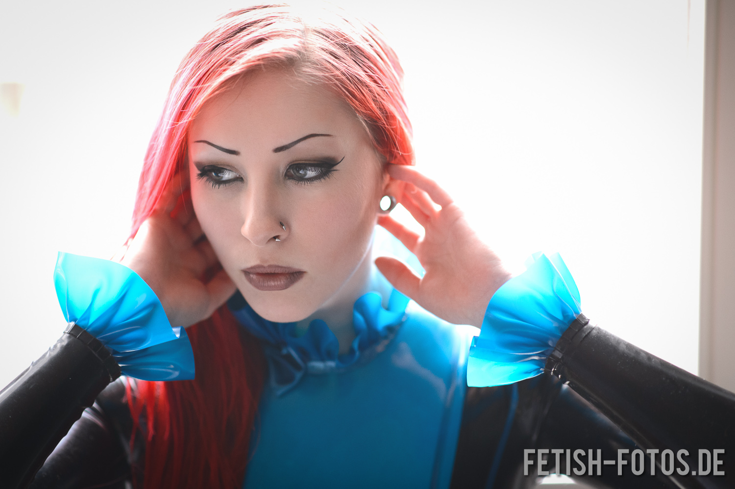 Latex Catsuit Mystique in perfekter Passform